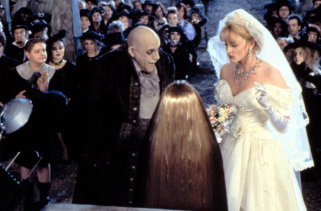 Cousin Itt was asked to marry Uncle Fester and narcissist gold digger Debbie