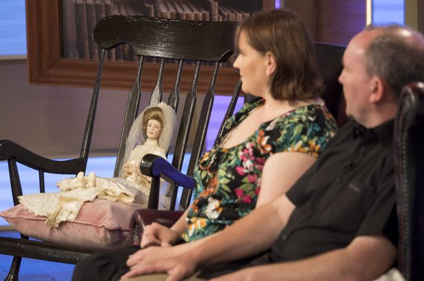 Debbie and Cameron appeared on This Morning in July 2017 - their story terrified viewers