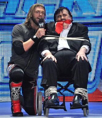 Edge gets to grips with the Deadman's master