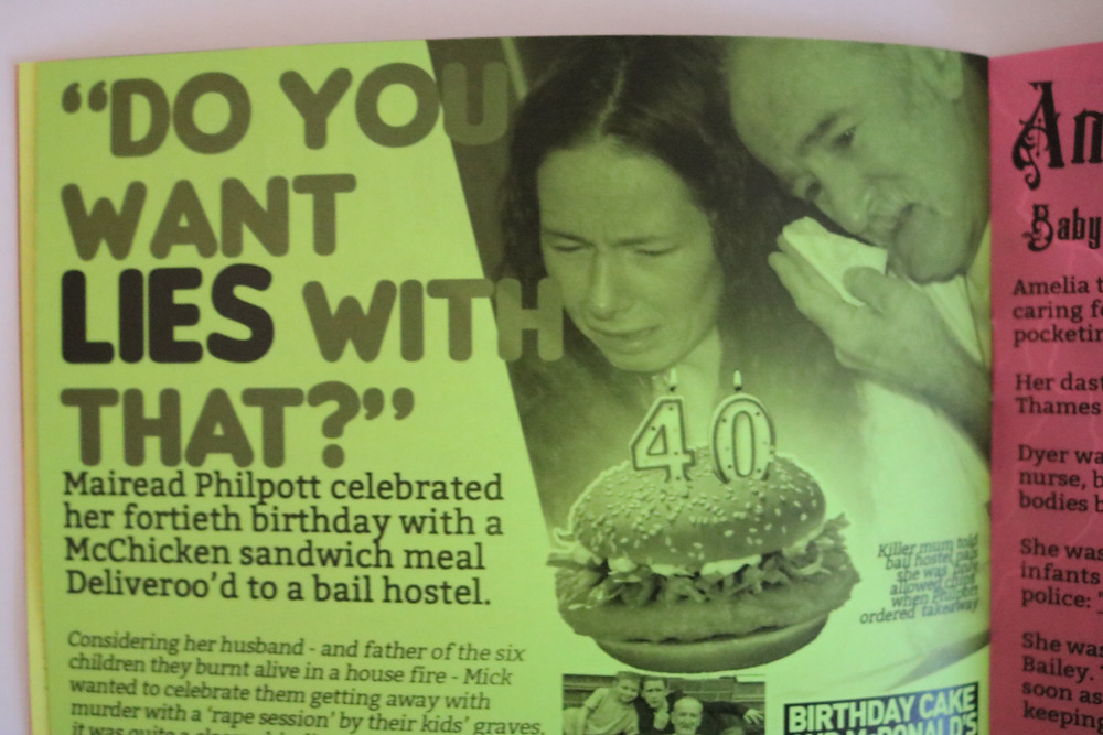 Get an invite to Mairead Philpott's 40th birthday party!