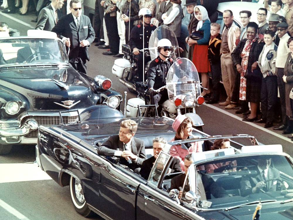 JFK and wife Jackie had no idea the history-changing horrors that were just minutes away