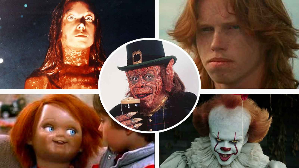 ginger people in horror movies