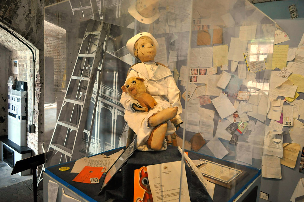 Robert the Doll is now locked away at a museum in Florida