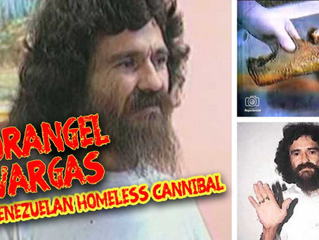 Dorángel Vargas: The homeless cannibal known as El comegente ('the people eater')