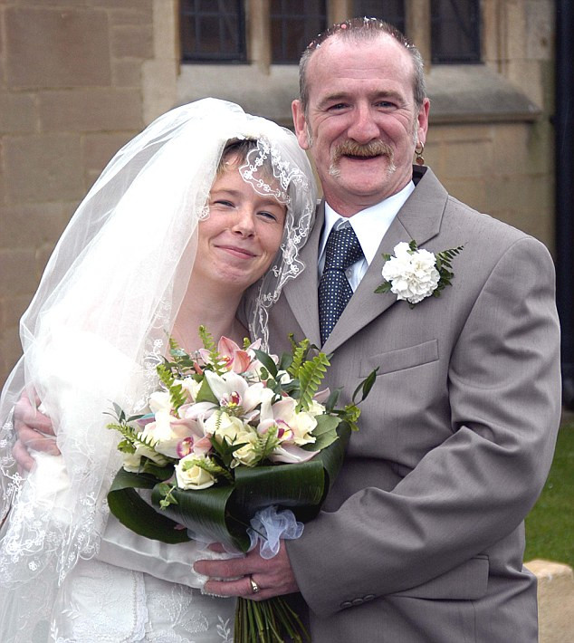 Mick was 44 when he wed 19 year old Mairead