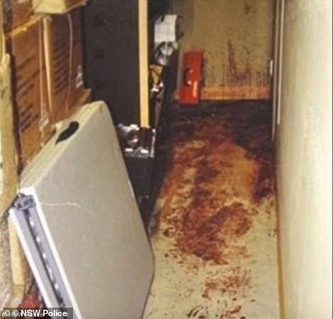 Crime scene photos from John Price's house