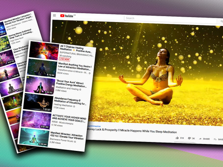 Can you manifest money, sexiness and power by listening to hours of chanting on YouTube?