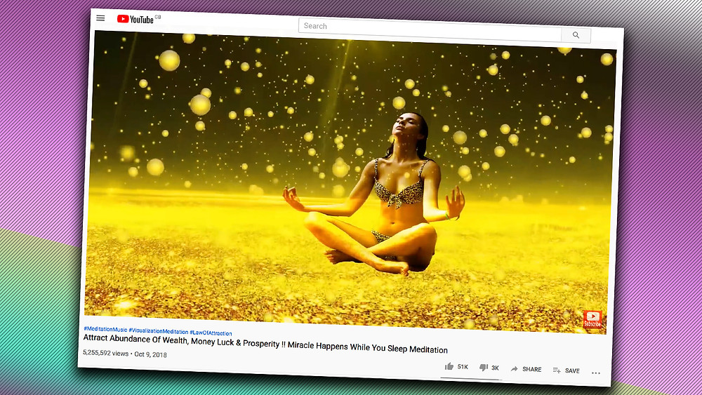 money manifestation, youtube, law of attraction, make money video