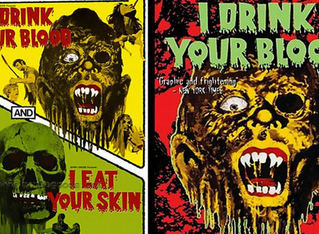 I Drink Your Blood / I Eat Your Skin grindhouse double