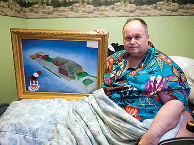 Andy Mtesi john wayne gacy painting crawlspace