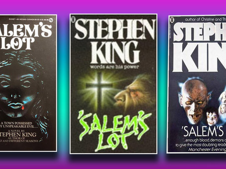 Charity shop book club: Salem's Lot