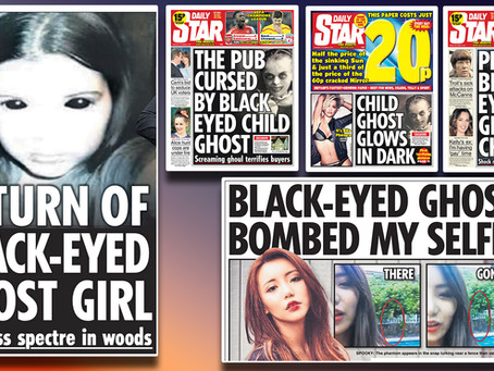 HAUNTED PUBS, BABIES AND WOODS... BLACK- EYED CHILDREN TERROR REVISITED