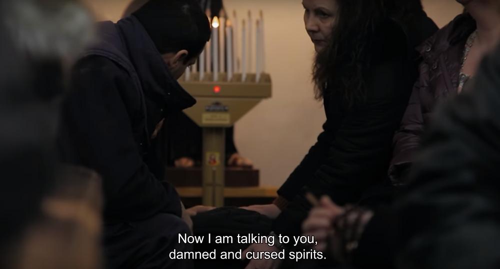 The subtitles make it even creepier