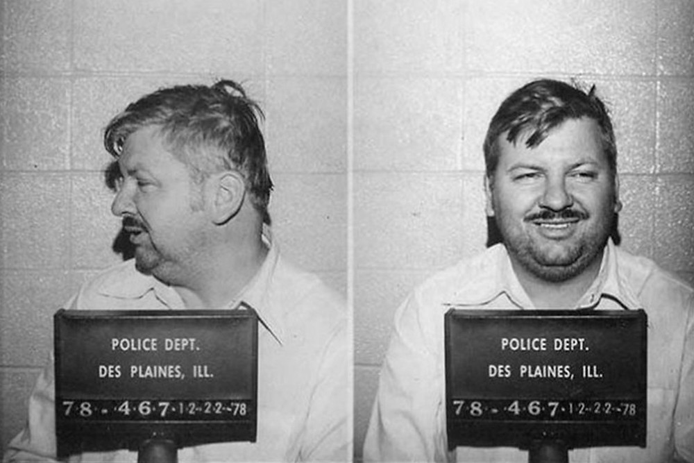 John Wayne Gacy pictured in his 1978 mugshot