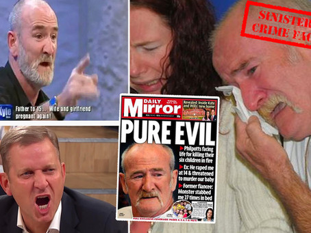 Fame hungry child killer Mick Philpott appeared on The Jeremy Kyle Show