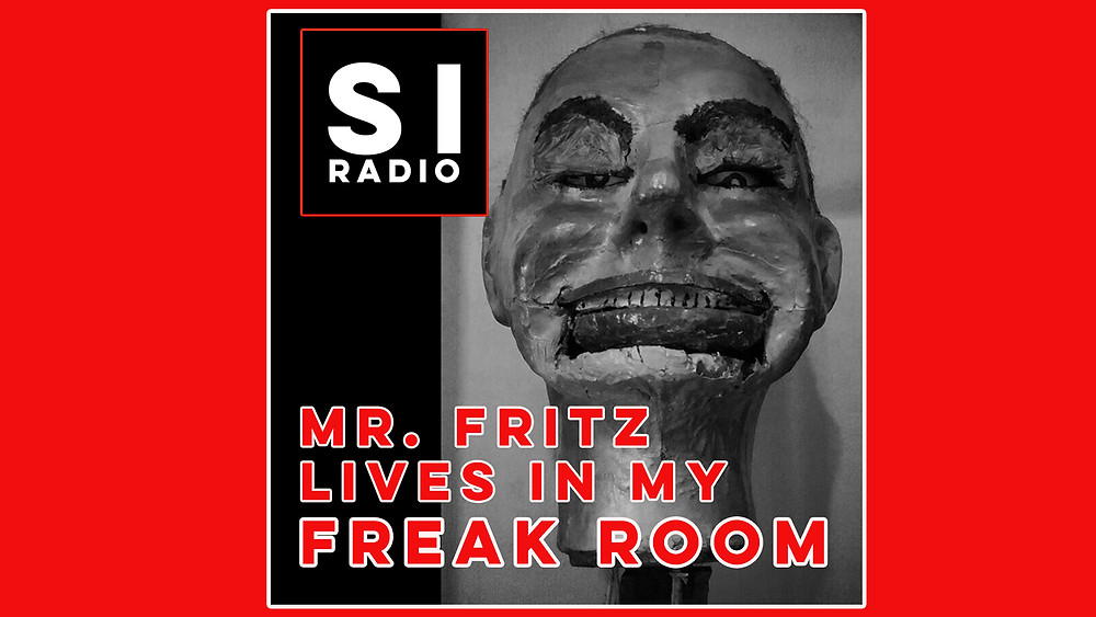 mr fritz, haunted, michael diamond, ventriloquist's dummy, evil doll , podcast, sinister isles