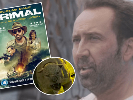 HUNTING CGI MONSTERS ON A BOAT... PRIMAL IS A NIC CAGE CLASSIC