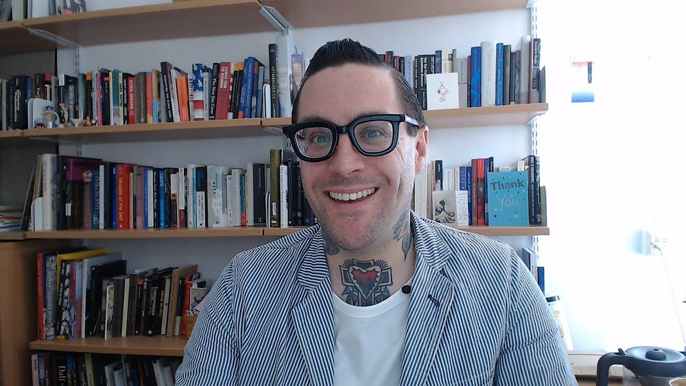 Dr. Matt Lodder is a tattoo historian and lecturer at the University of Essex