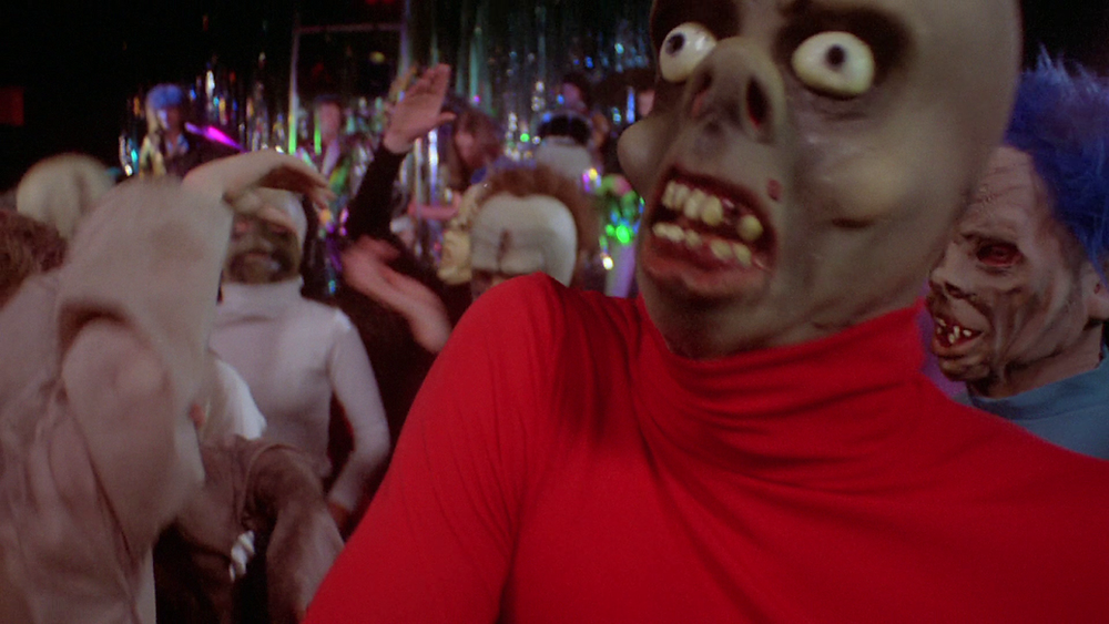 The costumes are garish and ridiculous, adding to the fun of the film