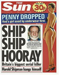 the sun front page shipman