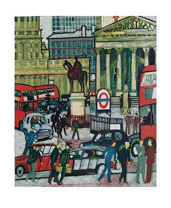 The Royal Exchange London - Rupert Shepherd - Art Angels Printmakers Cards