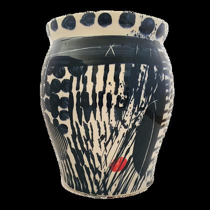 Simon Sharp Studio -  Large Vase / Planter Contemporary Abstract Design