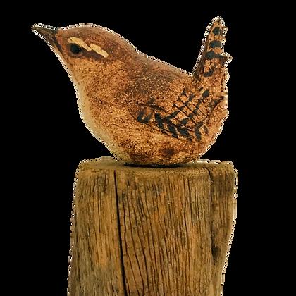 Wildlife Sculpture - Wren by Simon Griffiths