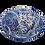 Thumbnail: Pru Green - Blue and White Deep Medium Bowl Floral Design