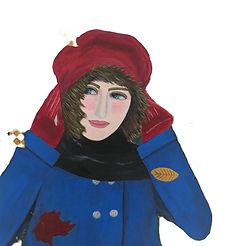 Windy Day in Dalham-Artist-Marcella Coop