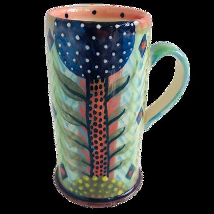 Pru Green Pottery - Espresso Cup - Colourful Handmade Ceramics