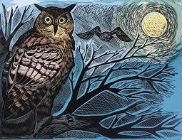 Angela Harding - Owl and Moon