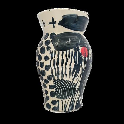 Simon Sharp Vase - Vase Contemporary Studio Pottery