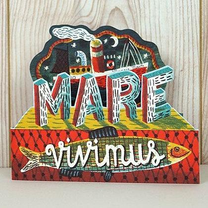 Jonny Hannah - Fold Out Card - Mare Vivimus