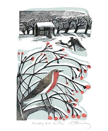 Angela Harding - Bringing Back The Tree - Printmakers Cards