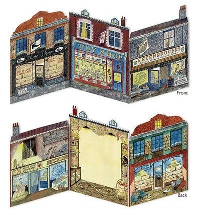 Emily Sutton - Die Cut Card - High Street - Art Angels