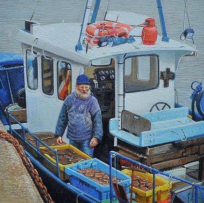 Peter Hall - Wells Crab Fisherman Norfolk