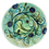 Thumbnail: Pru Green - Small Footed Dish - Colourful Design