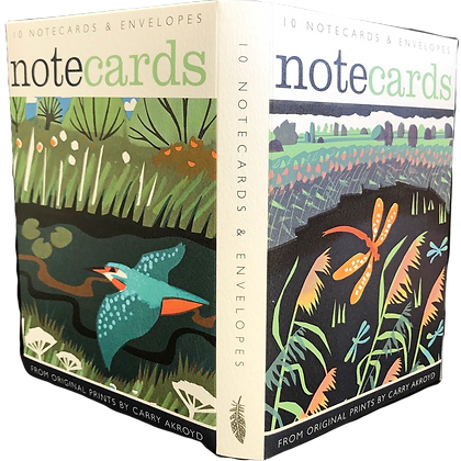 Carry Akroyd - Notecards and Envelopes by Art Angels