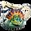 Thumbnail: Pru Green - Large Pint Jug with Shell and Fish Design