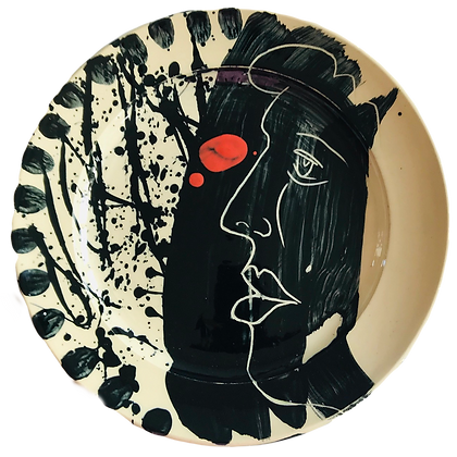 Simon Sharp Pottery - Abstract Design Platter
