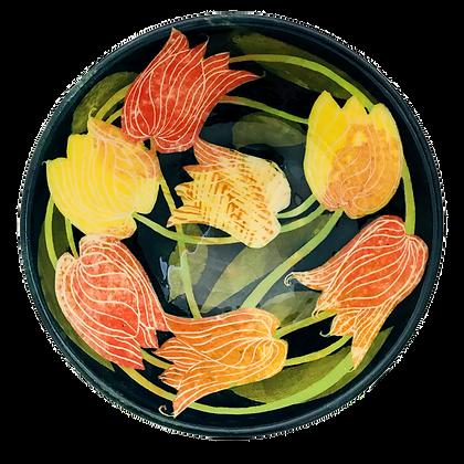 Ceramics by Pru Green - Tulip Dish