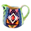 Thumbnail: Pru Green Pottery - Small Colourful Can Jug