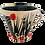 Thumbnail: Simon Sharp Ceramics - Mug - Abstract Design