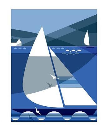 Sailing - Shadow Racers - Andrew Pavitt - Single Card