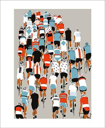 Peloton - Cycling - Eliza Southwood - Art Angels Printmaker Cards