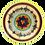 Thumbnail: Pru Green Pottery - Medium Colourful Bowl - Cereal Bowl
