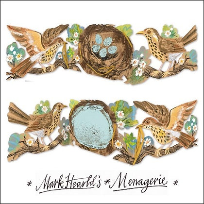 Mark Hearld - Die Cut Fold Out Card - Menagerie