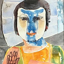 Anne Lynch-Watercolours-Church Street Ga