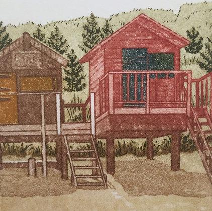 Jan Dingle - Beach Huts
