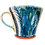 Thumbnail: Pru Green Pottery - Large Bright Colourful Ceramic Mug